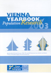 Vienna Yearbook of Population Research 2003